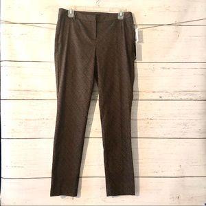 Adrienne Vittadini Printed Pants - Size 10